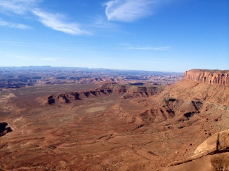 Grand View Point in Canyonlands National Park
