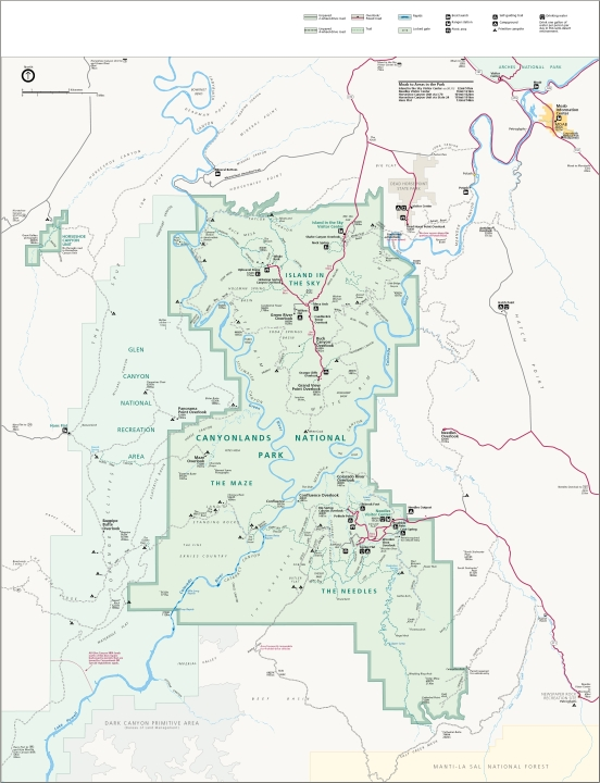 Map_of_Canyonlands_National_Park