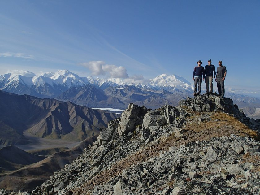 Atop Mt. Eielson by Josh Brown