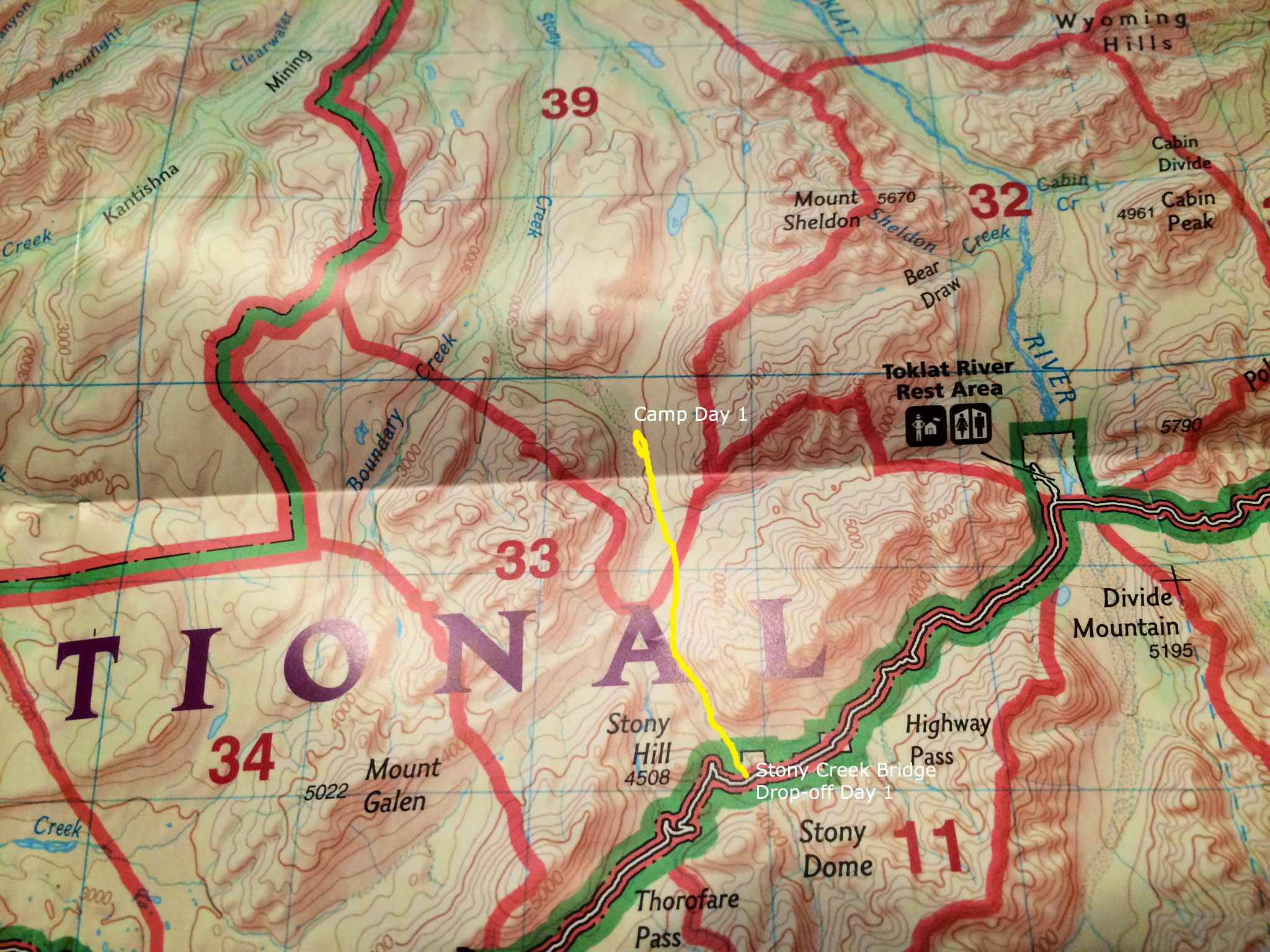 Alaska Stony Creek Unit 39 Denali National Park Day 1 a joyful
