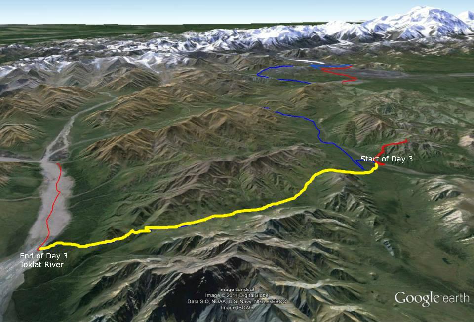 Alaska Stony Creek Unit 39 to Toklat River Unit 32 Denali