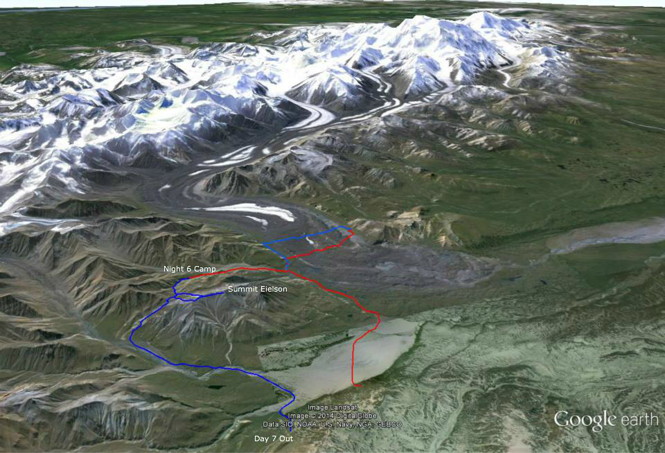 Alaska Wolverine Creek Unit 13 to Eielson Summit and Exit Unit
