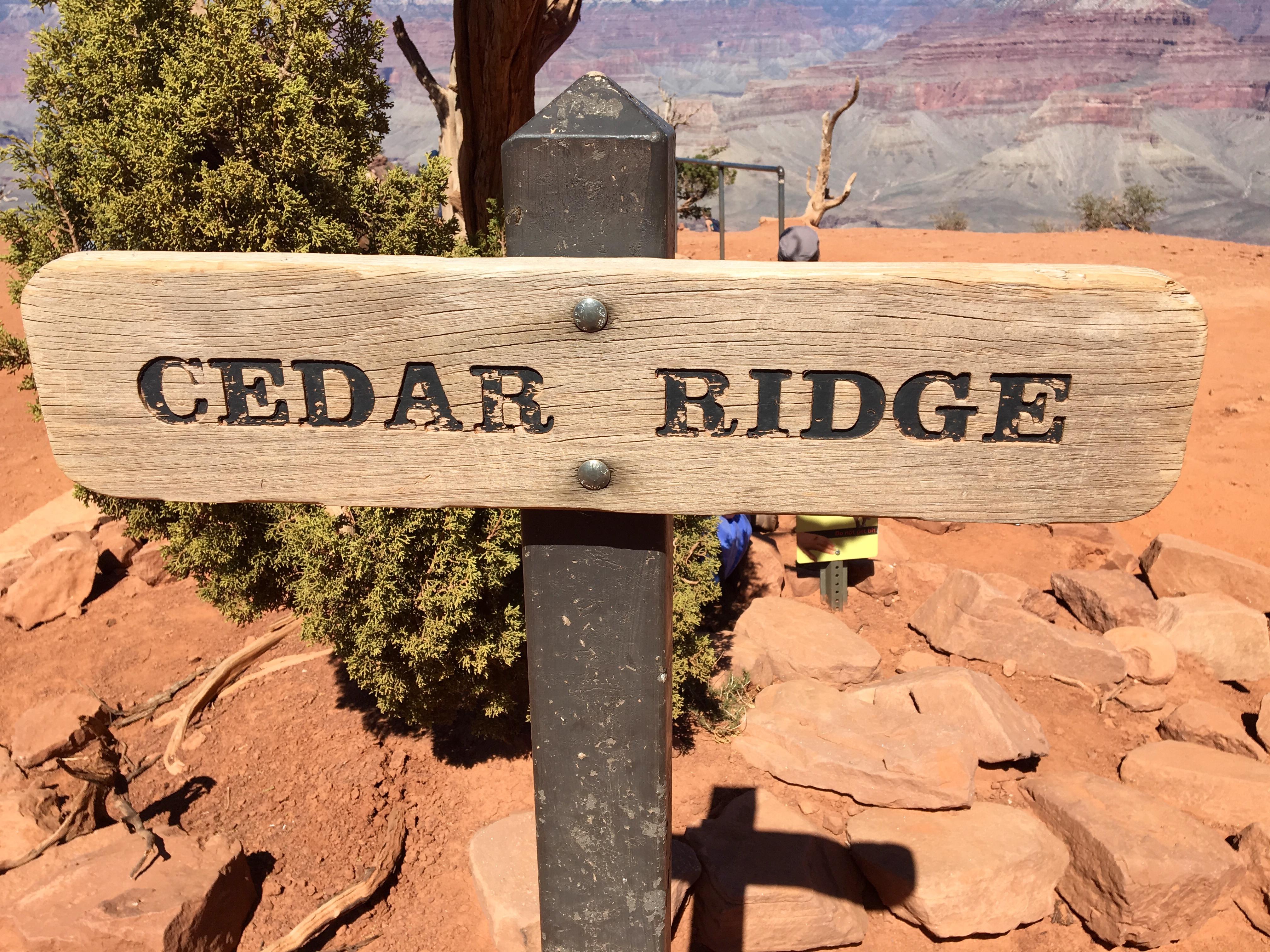 Arizona Grand Canyon South Kaibab Trail South Rim To